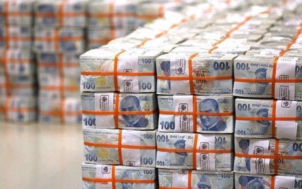 Hazine 2.9 milyar lira borçlandı