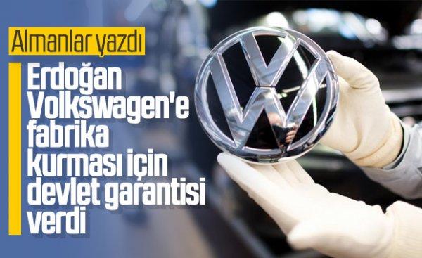 Volkswagen fabrikası binlerce kişiyi iş sahibi yapacak